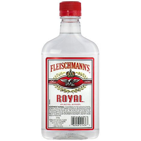 Fleischmanns Vodka 80 Proof - 375 Ml