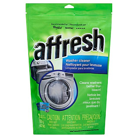 Affresh Washer Cleaner 3 Tablets - 4.2 Oz