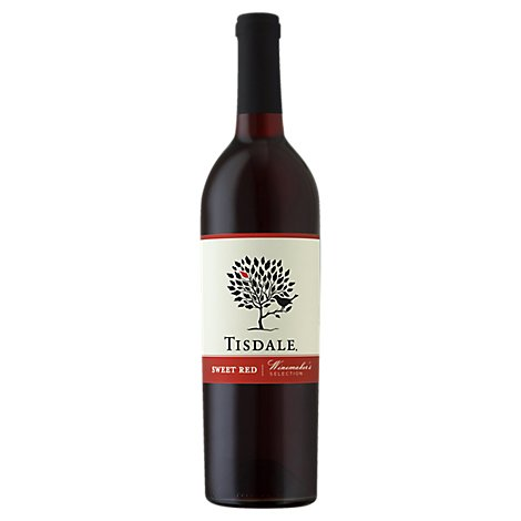 Tisdale Vineyards Sweet Red Red Wine - 750 Ml