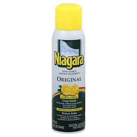 Niagara Spray Starch Original Crisp Finish Lemon - 20 Fl. Oz.