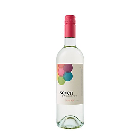 Seven Daughters Wine Moscato Italy - 750 Ml