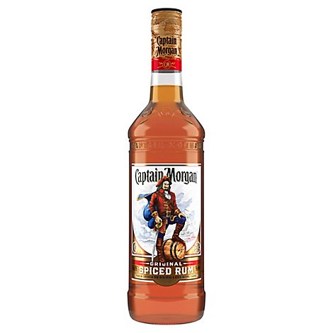 Captain Morgan Rum Spiced Gold 70 Proof - 1 Liter