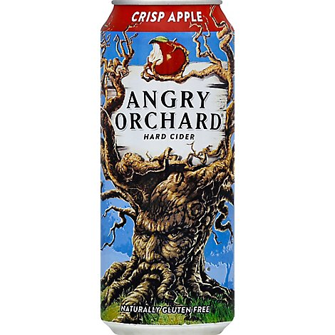Angry Orchard Hard Cider Crisp Apple Cans - 16 Fl. Oz.