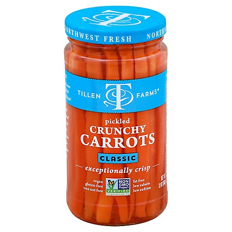 Tillen Farms Carrots Classic Pickled Crunchy - 12 Oz