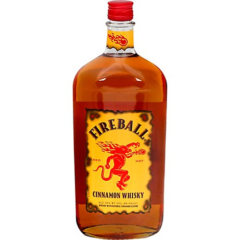 Fireball Cinnamon Whisky 66 Proof - 1 Liter
