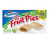 Hostess Fruit Pies Mini Apple 12 Count - 12 Oz