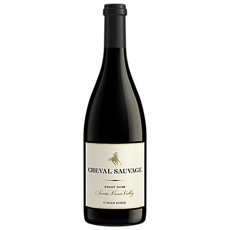 Wild Horse Wine Red Reserve Cheval Sauvage Pinot Noir - 750 Ml