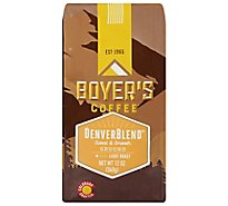 Boyers Coffee Coffee Ground Light Roast Denver Blend - 12 Oz