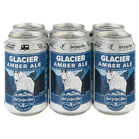 Red Lodge Glacier Ale Bottles - 6-12 Fl. Oz.