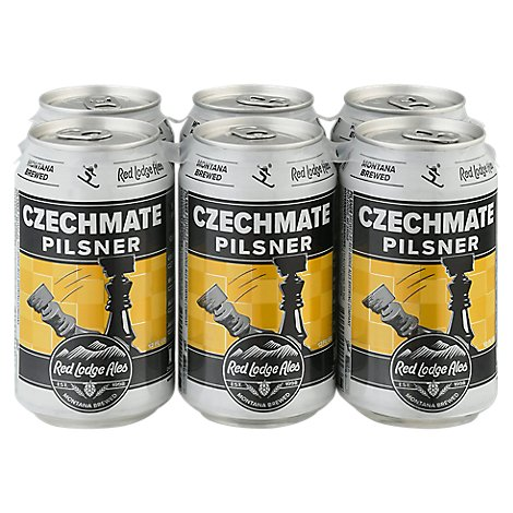 Red Lodge Czechmate Pilzner - 6-12 Oz