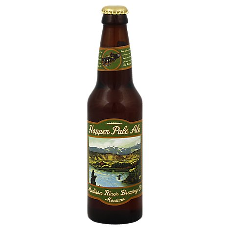 Madison River Hopper Pale Ale Bottle - 6-12 Fl. Oz.
