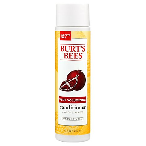 Burts Bees Cond Pomegranate Volume - 10 Fl. Oz.