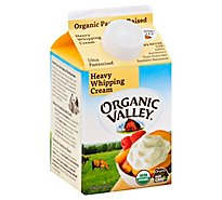 Organic Valley Organic Heavy Whipping Cream - 16 Fl. Oz.