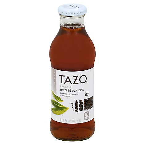 TAZO Black Tea Organic Iced - 13.8 Fl. Oz.