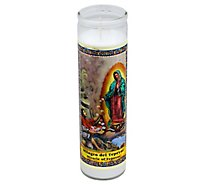 Eternalux Candle Miracle of Tepeyac Jar - Each