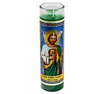 Eternalux St Jude Grn Candle - Each