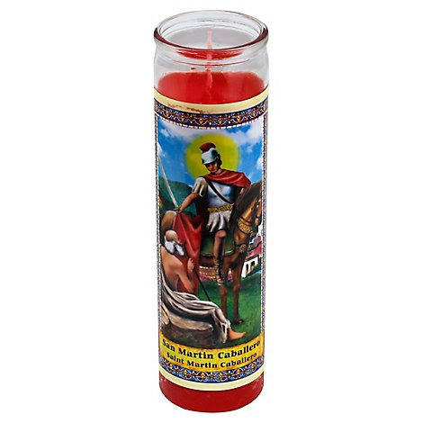 Eternalux Candle Saint Martin Caballero Jar - Each