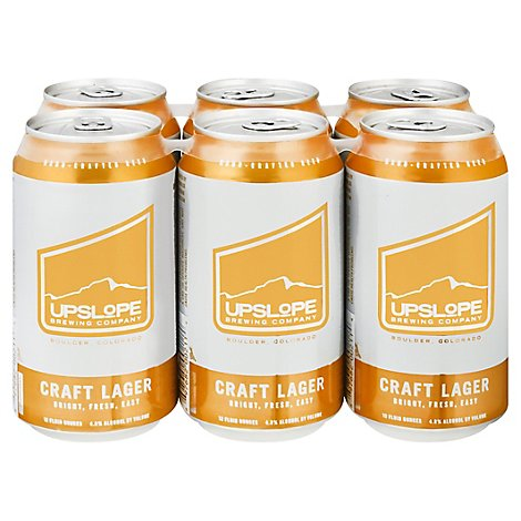 Upslope Craft Lager Bottles - 6-12 Fl. Oz.