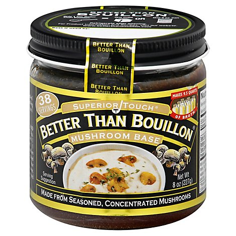 Better than Bouillon Base Superior Touch Mushroom - 8 Oz