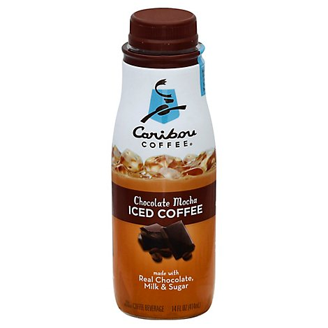 Caribou Coffee Iced Coffee Chocolate Mocha - 14 Fl. Oz.