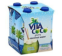 Vita Coco Coconut Water Pure - 4-16.9 Fl. Oz.