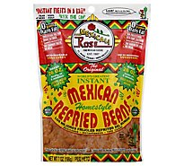 Mexicali Rose Beans Refried Instant Homestyle Bag - 7 Oz