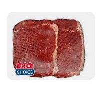 Meat Counter Beef USDA Choice Bottom Round Steak Blade Tenderized Value Pack - 2.50 LB