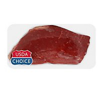 Meat Counter Beef USDA Choice Top Round Steak - 1.50 LB