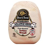 Boars Head Turkey Breast Lower Sodium - 0.50 LB