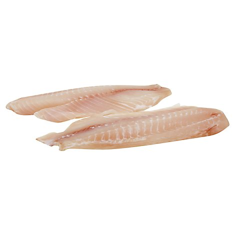 Seafood Service Counter Fish Tilapia Fillet Frozen - 1.50 Lbs.