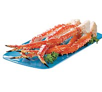 Seafood Service Counter King Crab Legs 9 To 12 - 2.00 LB