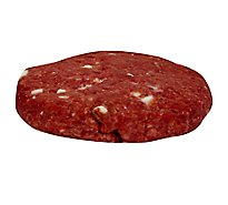 Meat Service Counter Ground Beef Pub Burger Bleu & Pepper 1 Count - 6 Oz