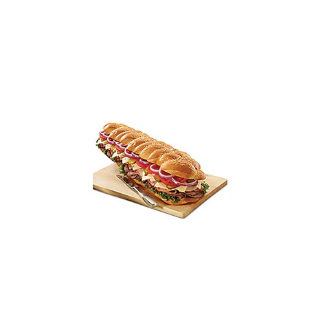 Deli Catering Tray Sub Sandwich 3 Foot - 16-20 Servings