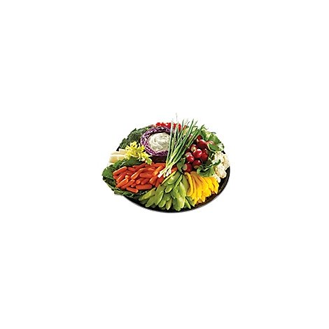 Deli Catering Tray Garden Fresh Vegetable - 6-8 Servings