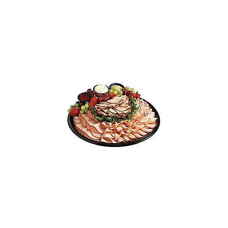 Deli Catering Tray Just Turkey & Ham or Beef - 14-18 Servings