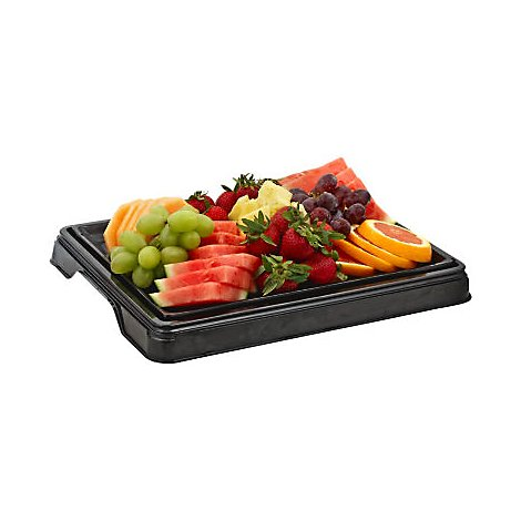 Deli Catering Tray Fresh Seasonal Fruit Large - Each