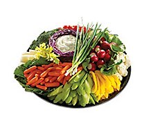 Deli Catering Tray Garden Fresh Vegetable - 12-14 Servings