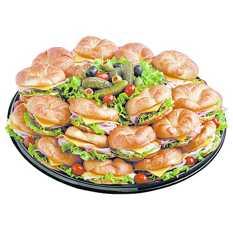 Deli Catering Tray Croissant Choice Large -Each