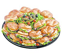 Deli Catering Tray Croissant Choice Medium - Each