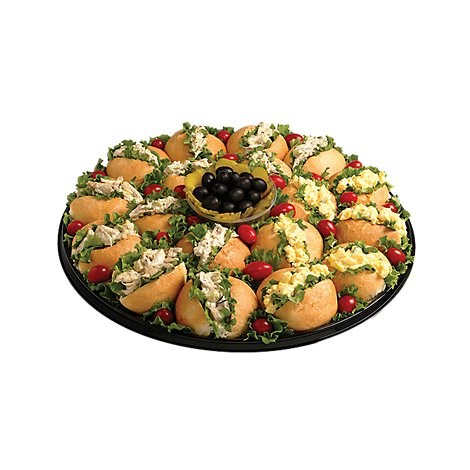 Deli Catering Tray Finger Sandwiches Medium -Each