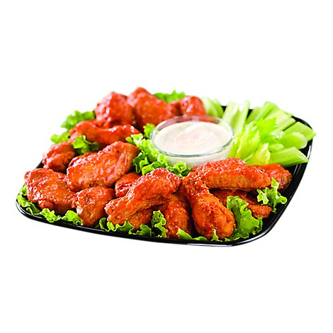 Deli Catering Tray Buffalo Wings - Each