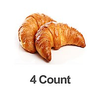 Fresh Baked All Butter Croissant - 4 Count