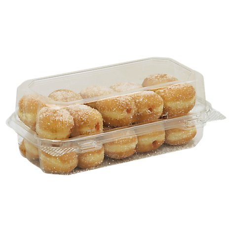 Bakery Donut Holes Raspberry Filled 8 Count - Each