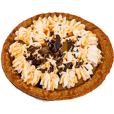 Bakery Pie Cream Sea Salt Caramel 8 Inch - Each