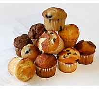 Bakery Muffins Variety 12 Count - Each