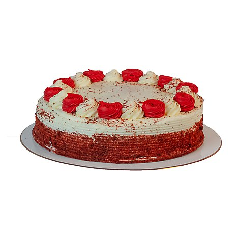 Bakery Cake 5 Inch 2 LayerRed Velvet Crm Cheese - Each