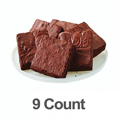 Bakery Brownies Uniced 9 Count - Each