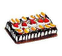 Bakery Cake 1/4 Sheet Fruit Suprema - Each