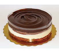 Bakery Cake 8 Inch Boston Cream Fudge - Each