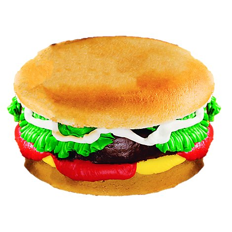 Bakery Cake Hamburger - Each